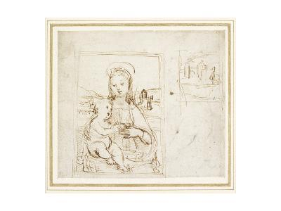 Study for a Picture of the Virgin and Child-Raphael-Giclee Print