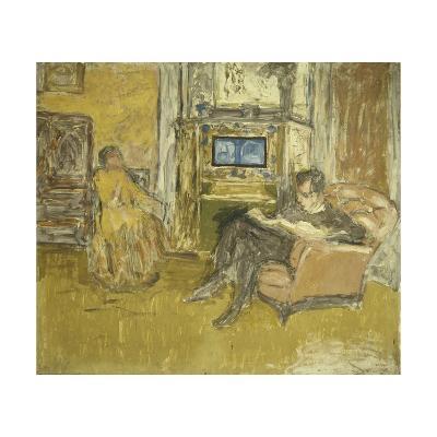 Study for a Portrait of Mr. and Mrs. Marcel Kapferer-Edouard Vuillard-Giclee Print