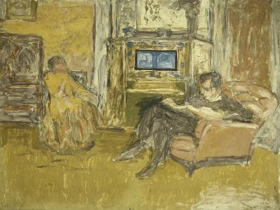 Study for a Portrait of Mr, C.1916-Edouard Vuillard-Giclee Print