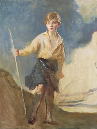 Study for a Portrait of the Hon. Andrew Elphinstone-Philip Alexius De Laszlo-Giclee Print