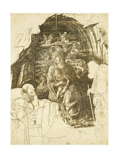 Study for Adoration of Magi-Andrea Mantegna-Giclee Print
