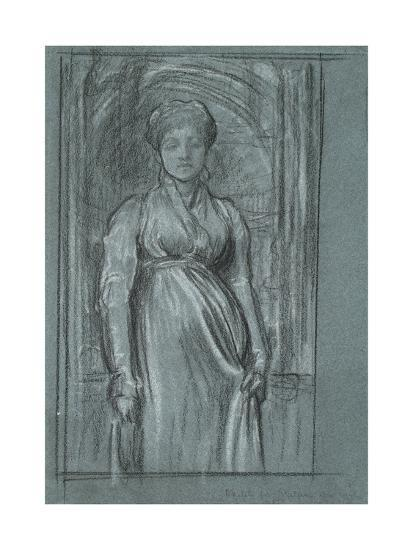Study for 'After Vespers', C.1871-Frederic Leighton-Giclee Print