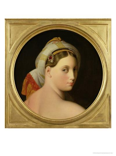 Study for an Odalisque-Jean-Auguste-Dominique Ingres-Giclee Print