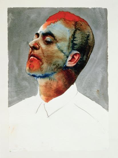 Study for Cartel, 1987-Graham Dean-Giclee Print