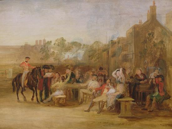 Study for 'Chelsea Pensioners Reading the Waterloo Dispatch', 1822-Sir David Wilkie-Giclee Print
