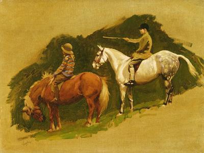 Study for Cloutsham Farm, Exmoor-Cecil Aldin-Giclee Print