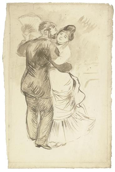Study for 'Countryside Dance', 1883-Pierre-Auguste Renoir-Giclee Print