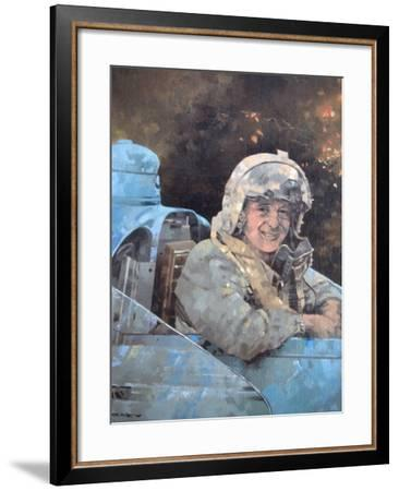Study for Donald Campbell-Peter Miller-Framed Giclee Print