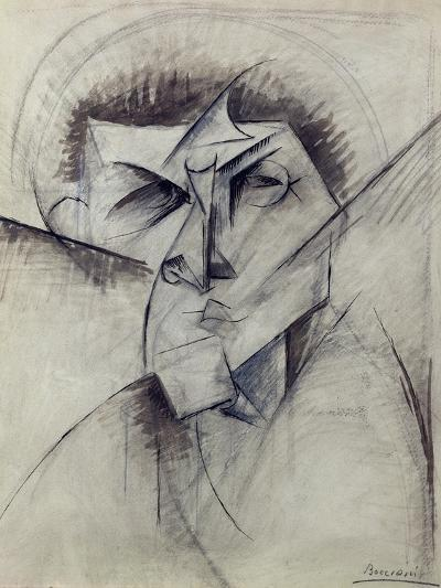 Study for Empty and Full Abstracts of a Head, 1912-Umberto Boccioni-Giclee Print