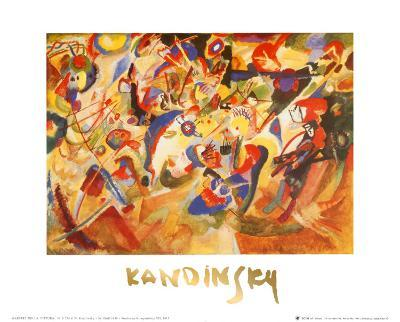 Study for Komposition VII-Wassily Kandinsky-Art Print