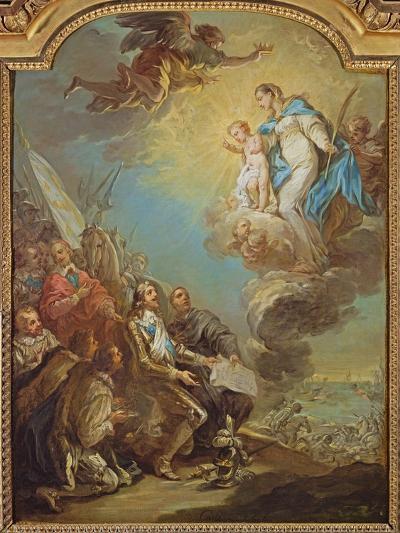 Study for Louis XIII-Carle van Loo-Giclee Print