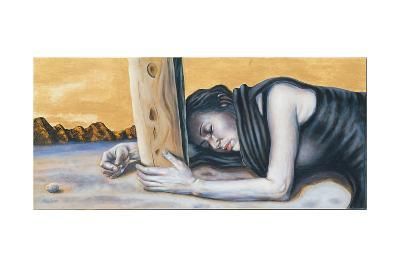 Study for 'Magdalene at the Base of the Crucifixion', 2003-Chris Gollon-Giclee Print
