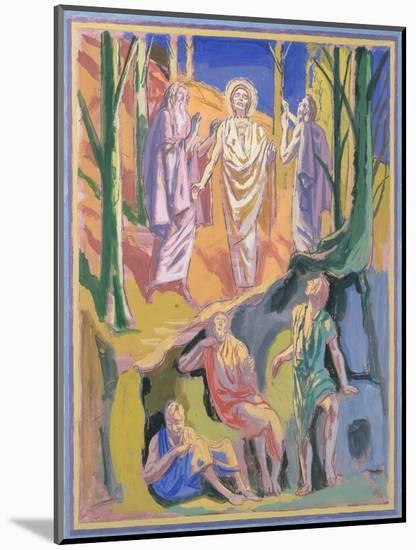 Study for mural of the Ascension, 1973-Hans Feibusch-Mounted Giclee Print