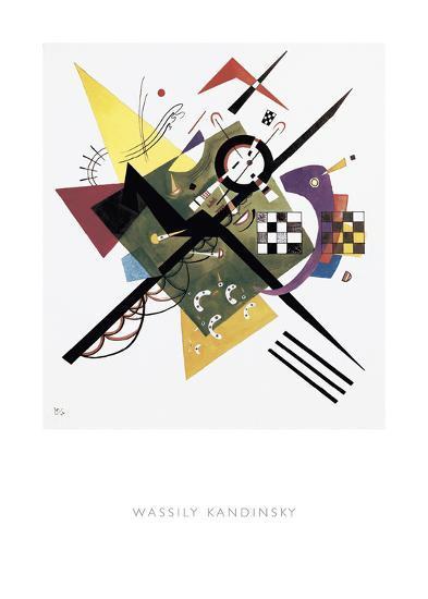 Study for On White II, 1922-Wassily Kandinsky-Art Print