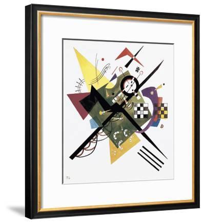 Study for On White II, 1922-Wassily Kandinsky-Framed Art Print