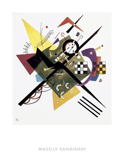 Study for On White II, 1922-Wassily Kandinsky-Giclee Print