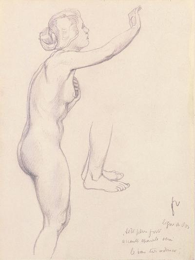 Study for Perseus and Andromeda, 1918-F?lix Vallotton-Giclee Print