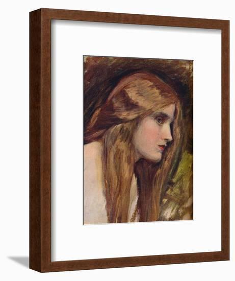 'Study for Phyllis and Demophoon', c1907-John William Waterhouse-Framed Premium Giclee Print