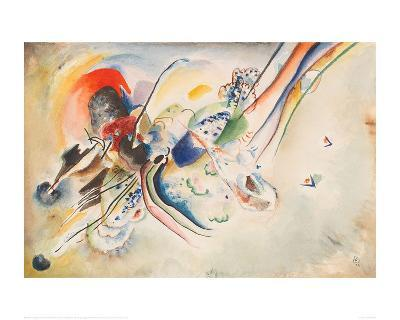 Study for Picture with Two Red Spots, 1916-Wassily Kandinsky-Giclee Print
