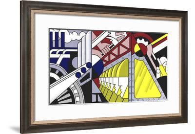 Study for Preparedness, 1968-Roy Lichtenstein-Framed Serigraph