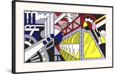 Study for Preparedness, 1968-Roy Lichtenstein-Framed Art Print