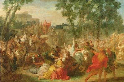 Study for Rape of the Sabines-Gabriel Francois Doyen-Giclee Print