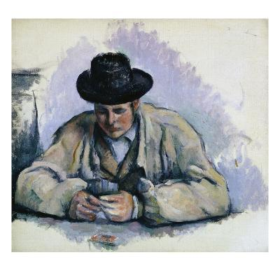 Study for The Cardplayers-Paul C?zanne-Giclee Print