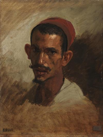 Study for the Head of a Young Arab, C.1860-62-Isidore Pils-Giclee Print