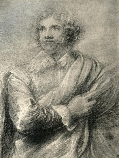 Study for the Painting of the Engraver, Peter De Jode the Younger, 1913-Sir Anthony Van Dyck-Giclee Print