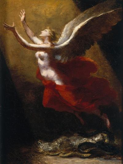 Study For the Soul Breaking Links with the Earth, c.1822-Pierre-Paul Prud'hon-Giclee Print