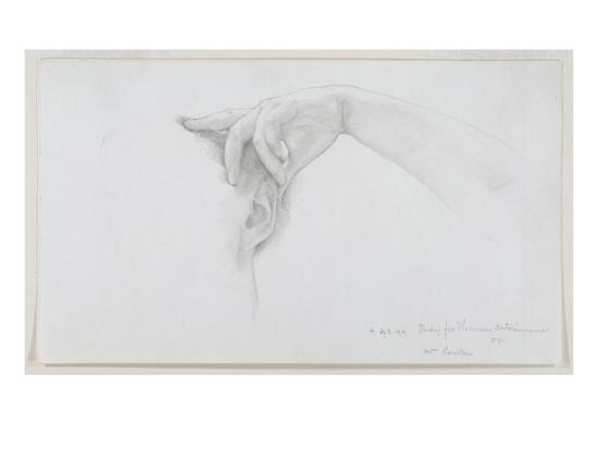 Study for 'Thermaie Antoniniane', 1899 (Pencil on Paper)-Sir Lawrence Alma-Tadema-Giclee Print