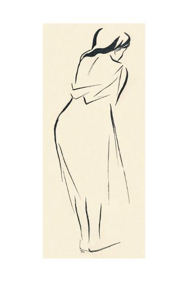 Study in Line, C1898-Jean Louis Forain-Giclee Print