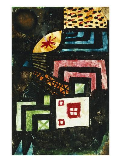 Study in Stone; Studie Im Stein-Paul Klee-Giclee Print