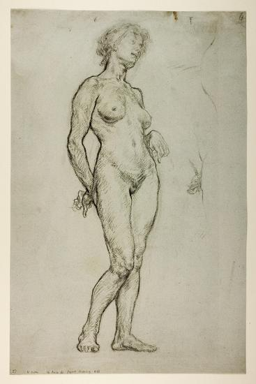 Study of a Female Figure, 1898-Sir William Orpen-Giclee Print
