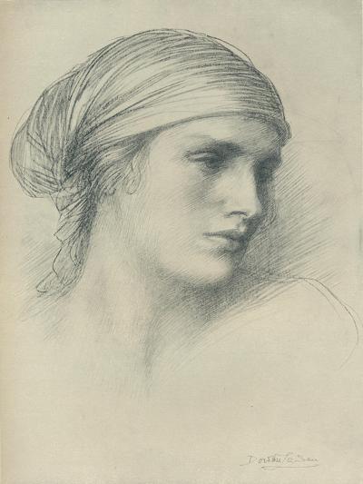 Study of a Head, C1916-Dorothea Landau-Giclee Print