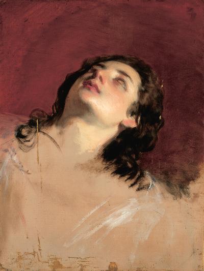 Study of a Head of a Woman-Friedrich Von Amerling-Giclee Print