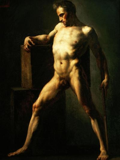 Study of a Man, 1808-1812-Th?odore G?ricault-Giclee Print