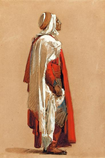 Study of a Man in Oriental Costume-Isidore Pils-Giclee Print