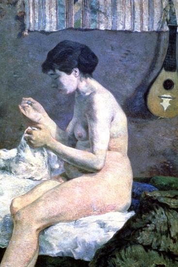 Study of a Nude, 1880-Paul Gauguin-Giclee Print