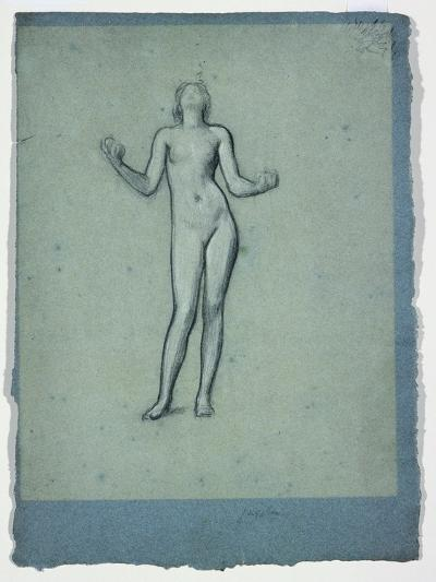 Study of a Nude Figure (Juggler)-Frederick Leighton-Giclee Print