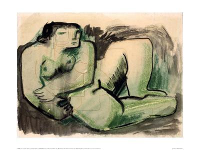 Study of a Reclining Nude, 1930-Henry Moore-Giclee Print