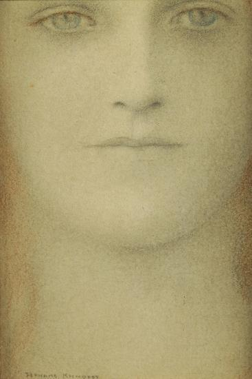 Study of a Woman, 1890-Fernand Khnopff-Giclee Print