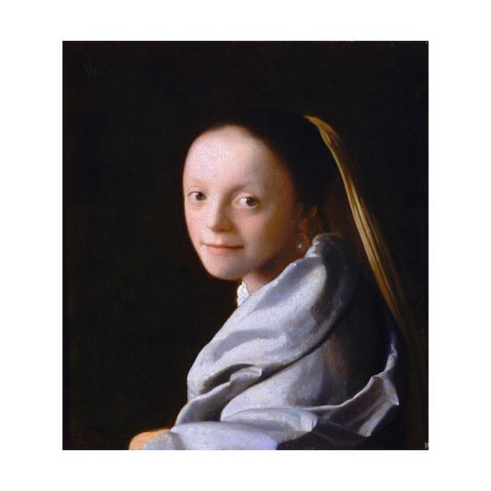 Study of a Young Woman, Ca. 1665-1667-Johannes Vermeer-Giclee Print