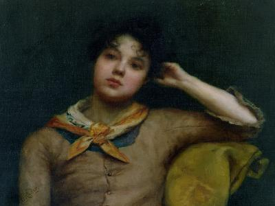 Study of a Young Woman-Harriet E. Ryder-Giclee Print