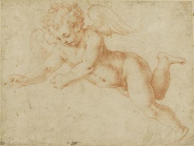 Study of an Angel's Face, Looking Towards the Earth-Giorgio Vasari-Giclee Print