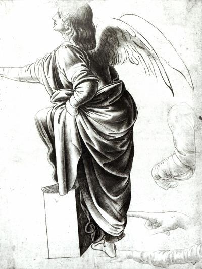 Study of an Angel-Leonardo da Vinci-Giclee Print