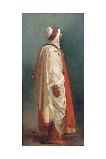 Study of an Arab Standing-Isidore Pils-Giclee Print