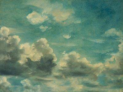 Study of Cumulus Clouds-John Constable-Giclee Print