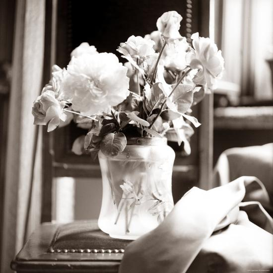 Study of Floral Arrangement-Edoardo Pasero-Photographic Print