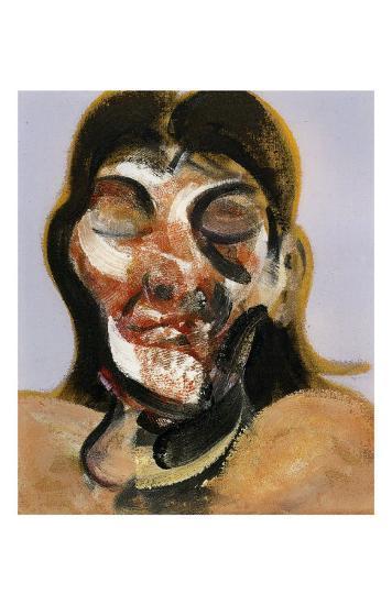 Study of Henrietta Moraes, c.1969-Francis Bacon-Art Print